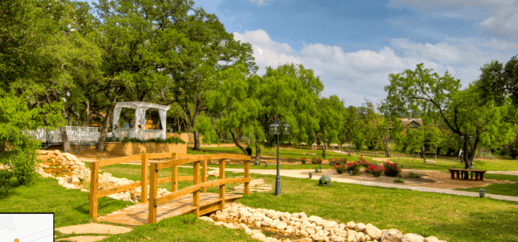 Gardens at Old Town Helotes: Gorgeous Wedding and Photo Location
