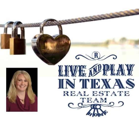 Live and Play in Texas Real Estate Team Logo