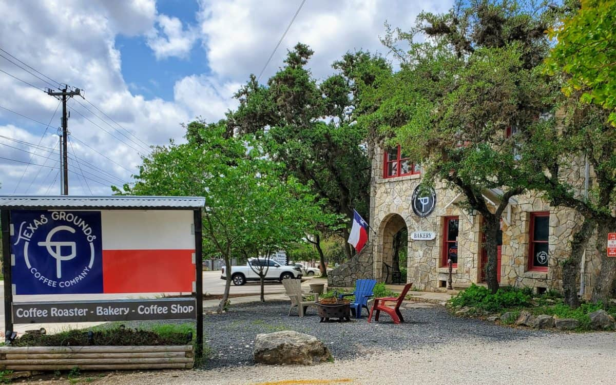 Texas Ground Coffee Co. in Old Town Helotes