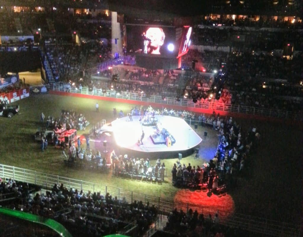 Josh Turner in concert at the San Antonio Stock Show and Rodeo